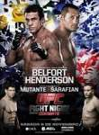 Ufc Fight Night 32: Belfort Vs Henderson