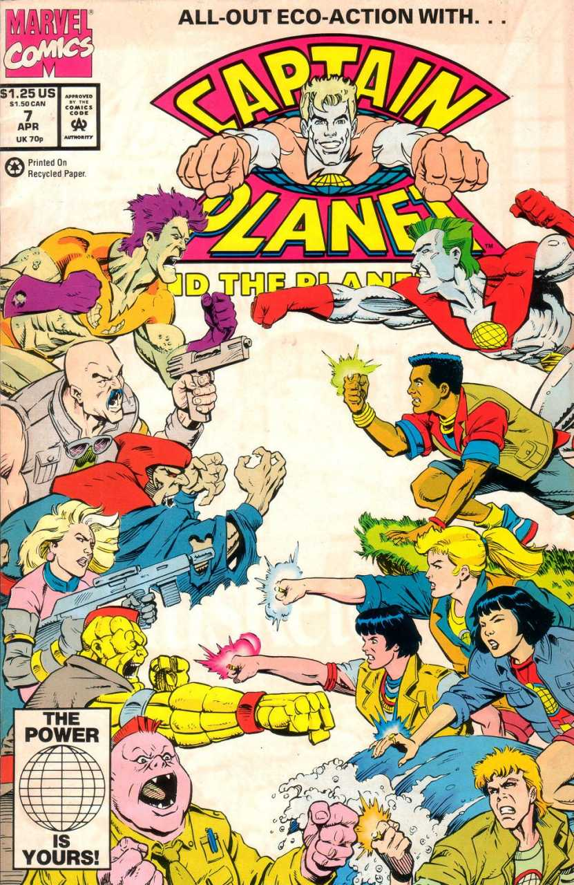 Captain Planet And The Planeteers: Season 3